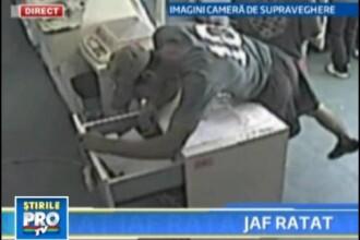 Trei tineri din Dambovita, protegonistii unui JAF DE TOT RASUL! Vezi VIDEO