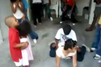 Dansuri erotice cu copii de scoala primara! Vezi VIDEO!