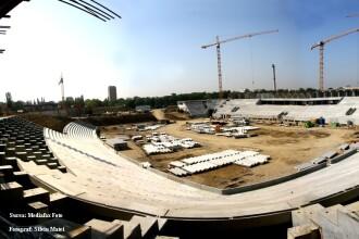 Sorin Oprescu: Stadiul lucrarilor la Stadionul Lia Manoliu este la 50%