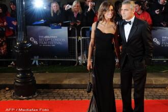 Clooney si iubita sa, atractiile festivalului de film de la Londra