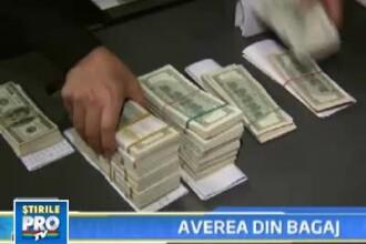 Banii confiscati pe Aeroportul Otopeni miros a frauda si a retele teroriste