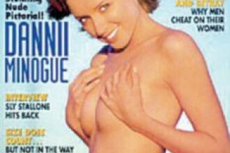 Dannii Minogue: Am pozat in Playboy pentru a-mi plati datoriile!