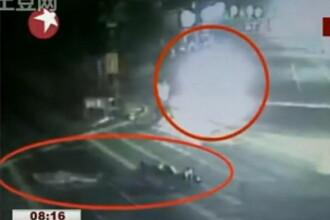 Nesimtire criminala: calcat de tren pentru ca nimeni nu l-a ajutat! VIDEO