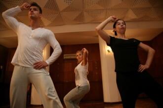 Repetitii la Dansez pentru tine - vanatai, febra musculara si o accidentare