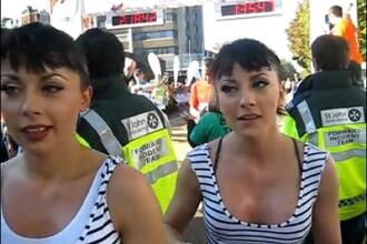 Rezistente, nu gluma.Cheeky Girls au alergat 21 de km la maraton, in Londra