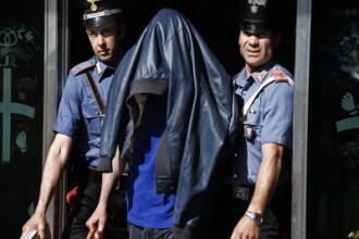 Italia: Patru hoti romani au dat spargeri dupa spargeri imbracati la 4 ace