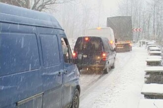 Noul Cod Rutier: Interzisa circulatia fara cauciucuri speciale iarna