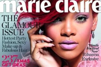 Rihanna, pe coperta Marie Claire. Totul despre relatia cu Chris Brown