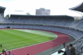 Elena Udrea, dupa vizita pe Cluj Arena: Ma bucur ca nu o sa plec de aici cu gazonul in tocuri