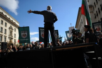 Doua mii de nationalisti au manifestat la Sofia impotriva tiganilor: