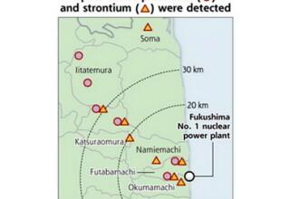 Alerta in Japonia. A fost descoperit pamant contaminat cu plutoniu la 45 km de Fukushima
