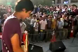 Primul concert rock in Afganistan dupa 30 de ani. Alcoolul interzis, s-a consumat doar kebab. VIDEO