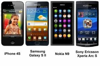 Este sau nu iPhone 4S cel mai tare telefon? Comparatie cu Samsung Galaxy S II si Nokia N9