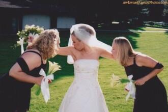 Albumul jenant de familie. Cele mai nefericite fotografii de nunta