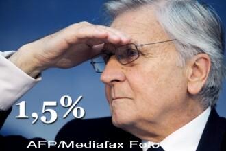 Ultima decizie a lui Trichet la BCE: dobanda cheie ramane la 1,5%