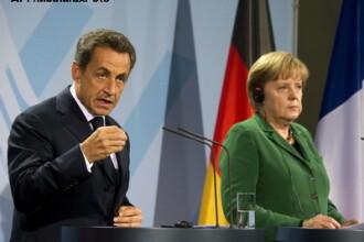 Financial Times: Acordul dintre Merkel si Sarkozy: Germania - Franta 1-0
