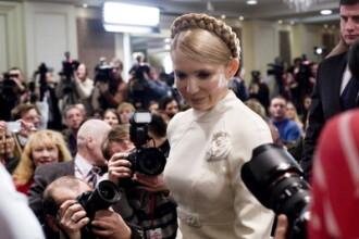 Timosenko, batuta in inchisoare. Pozele in care fostul premier al Ucrainei este de nerecunoscut