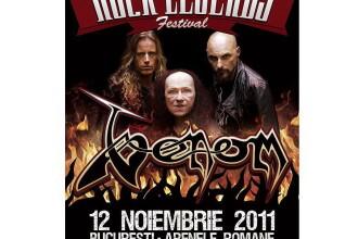 Sodom si Venom vin la Bucuresti, in perioada 5-12 noiembrie 2011, la Rock Legends