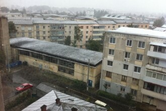 La tine in oras a nins? Uite cum arata prima zapada la Roman
