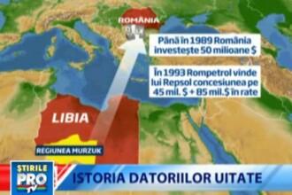 Romania, te iubesc: Cate milioane de euro mai are de recuperat Romania din Libia
