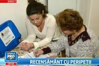 A inceput recensamantul in Romania. 120.000 de recenzori au gasit 9 usi inchise din 10