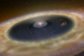 Premiera in astronomie: savantii au asistat la nasterea unei planete. FOTO
