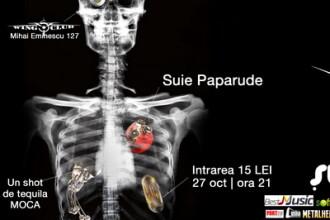 Concert Suie Paparude in Bucuresti - joi, 27octombrie