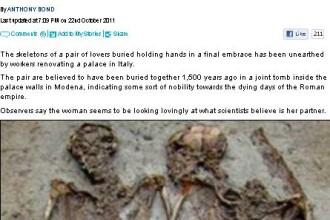 Vei plange cu siguranta. Ce au descoperit arheologii intr-un mormant vechi de 1.500 de ani. FOTO