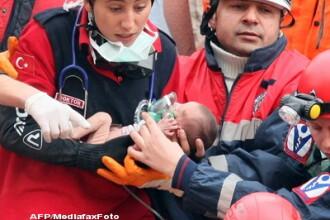 Miracolul supravietuirii umane. O fetita de doar doua saptamani a stat 48 de ore sub daramaturi