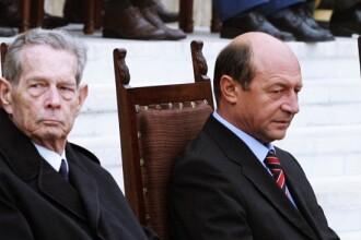 Regele Mihai despre Basescu: Cu cat sunt mai marunte jignirile sale, cu atat se crede mai important