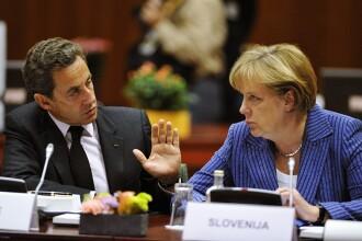 Viitorul zonei euro e in mainile Italiei. Sarkozy si Merkel trag un semnal de alarma