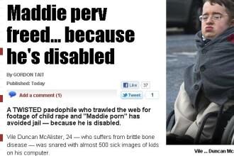 Motivul incredibil pentru care un pervers care colectiona imagini cu minori a scapat de inchisoare