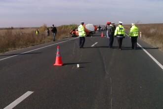 Accident mortal pe drumul dintre Lugoj si Caransebes.Un barbat de 30 de ani a fost lovit de o masina