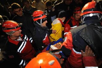 Imaginile sperantei in Turcia: supravietuitori ai cutremurului, gasiti si dupa 100 de ore