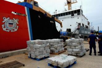 Paza de Coasta americana a confiscat 7 tone de cocaina de la bordul unui