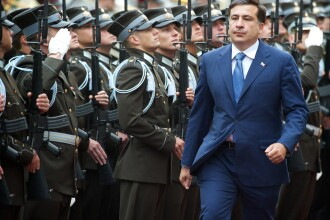 Lupta pentru putere in Georgia: Saakasvili,