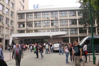 Universitatea de Vest din Timisoara se promoveaza in unitatile de invatamant pentru a atrage cei mai buni absolventi de liceu