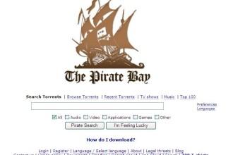 Site-ul de torrent piratebay.se a picat. Serverele nu mai raspund