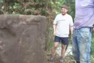 Monument vechi de 2.000 de ani descoperit pe fundul raului Mures. Ce spun arheologii