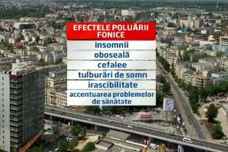Bucuresti, orasul cu cel mai mare grad de poluare fonica din UE. Primaria trebuie sa vina cu solutii