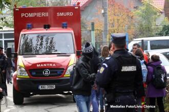 Accident rutier cu sapte masini in Ilfov. Sase persoane au fost ranite, dintre care una este in stare grava