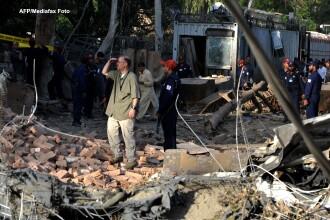 Cinci rebeli au fost ucisi in Pakistan intr-un atac lansat de avioane americane FARA pilot
