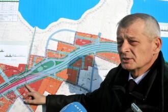 Un grup de constructii chinez e interesat de un parteneriat la autostrada suspendata a lui Oprescu