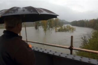 Cod galben de inundatii pe raurile din Vestul tarii. Vezi care sunt zonele afectate