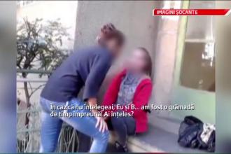 Eleva batausa din Braila a fost luata de politisti. Si cea care a filmat risca exmatricularea
