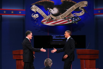 Ultima dezbatere televizata Obama-Romney a condus la postarea a 6,5 milioane de mesaje pe Twitter
