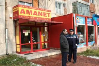 Jaf la aceeasi casa de amanet din Hunedoara unde, in 2007, o angajata a fost impuscata in cap