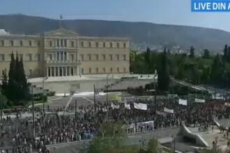 Grecia, PARALIZATA. A patra greva generala din 2012, in ziua summitului european