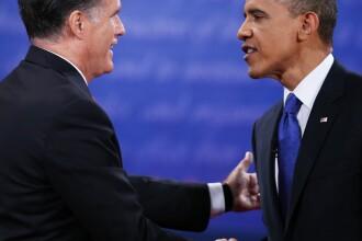 Obama si Romney vor continua confruntarea timp de 15 zile pe teren, dupa ultima dezbatere televizata