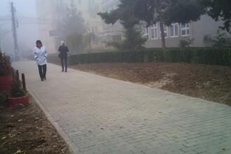 Nicolae Robu s-a tinut de cuvant si a construit ruta ocolitoare de pe Aleea Studentilor. Vezi FOTO